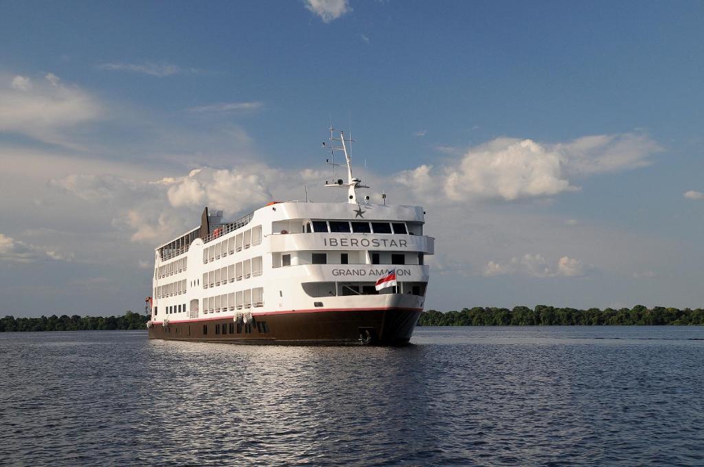 Iberostar Heritage Grand Amazon - um hotel flutuante como opção para se hospedar em Manaus