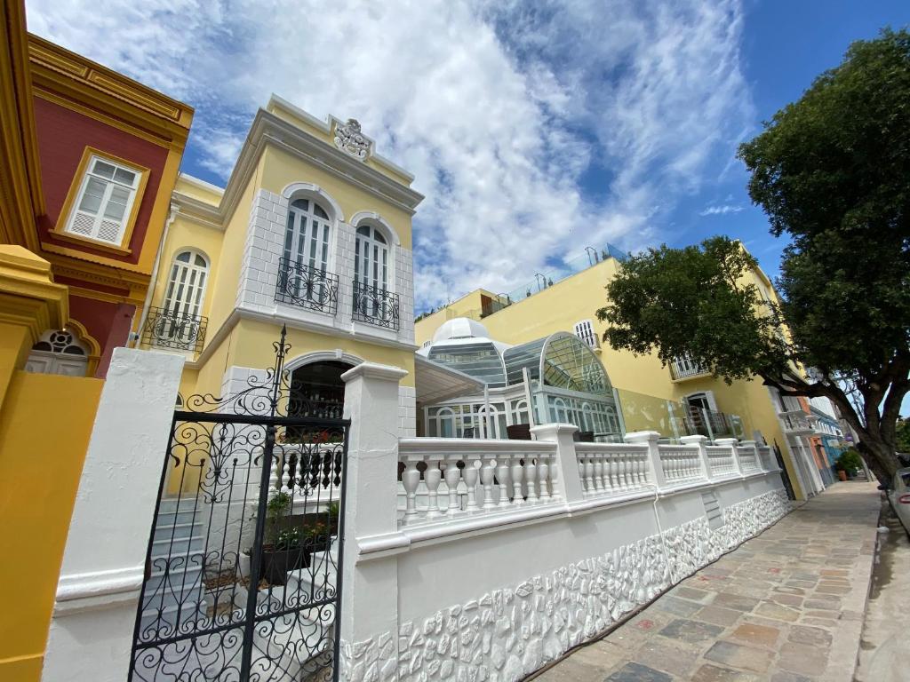 Juma Ópera - arquitetura colonial presente em todos os detalhes do hotel