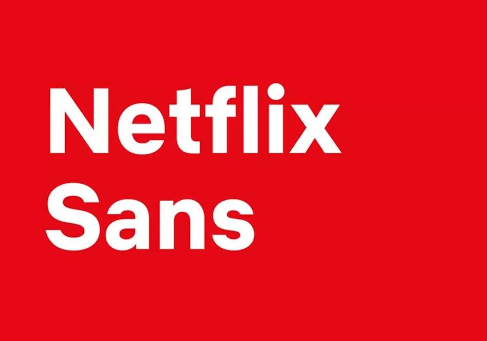 Fonte Netflix Sans TAA