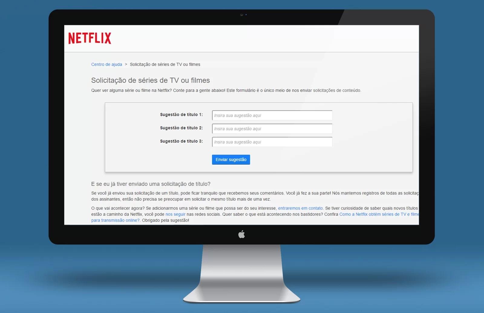 Solicitar Títulos Netflix