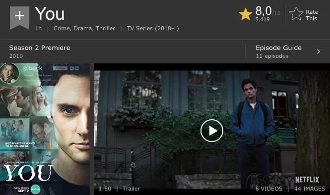 you serie imdb