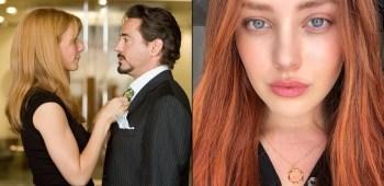 Katherine Langford Tony Stark e Pepper Potts vingadores