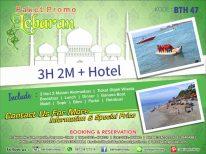 Paket Promo Lebaran 3H2M + Hotel OPSI B