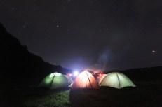 Danau Tamblingan - Suasana malam yang cerah (dok. temansetaman)