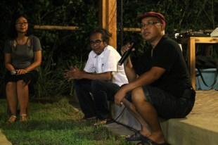 Film Senyap - Diskusi Alit Ambara & Nug Katjasungkana (dok. temansetaman)