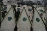 Gereja Ayam - Ornamen di bawah kepala gereja (dok. temansetaman)