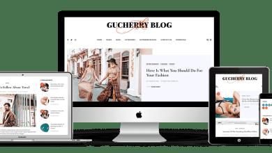 Gucherry Blog Teması