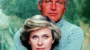 Paul Newman y su esposa