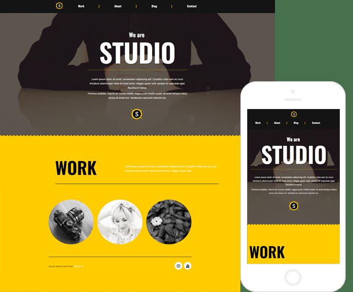 Tema Html de Software y Portafolio - Studio | Temas de WordPress