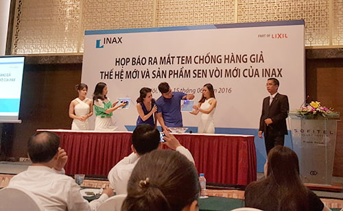 tem chống giả inax