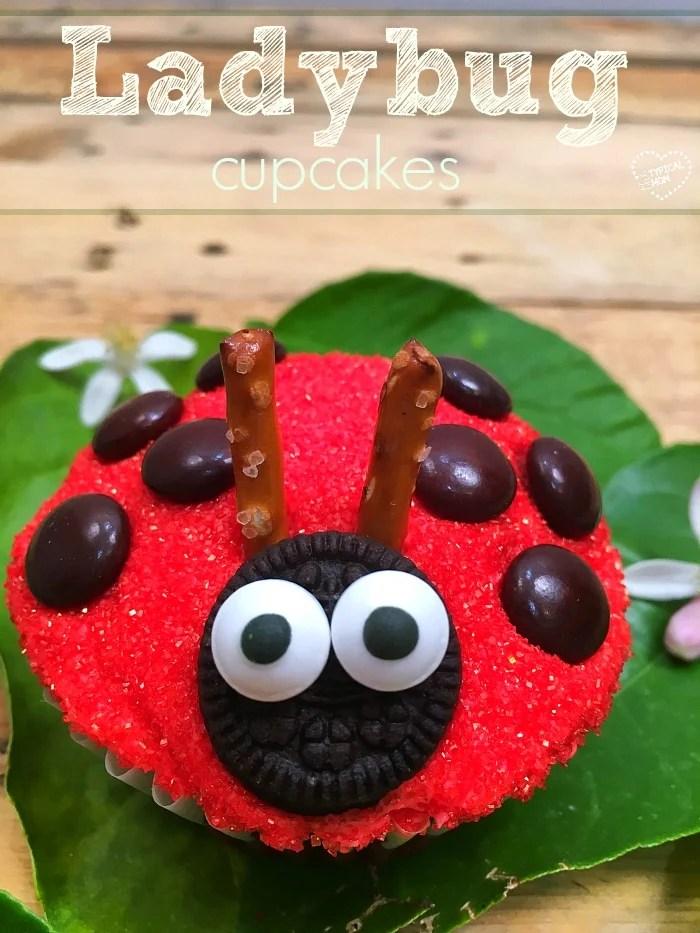 Ladybug Cupcake The Typical Mom