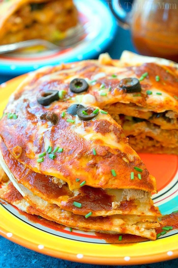 Mexican Instant Pot Pizza