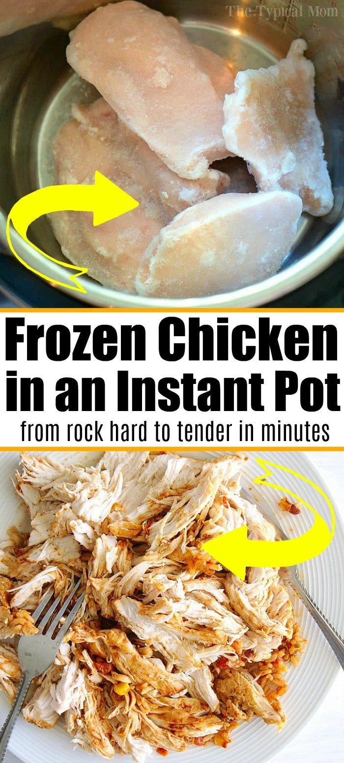 How to Cook Frozen Chicken in the Instant Pot · The ...