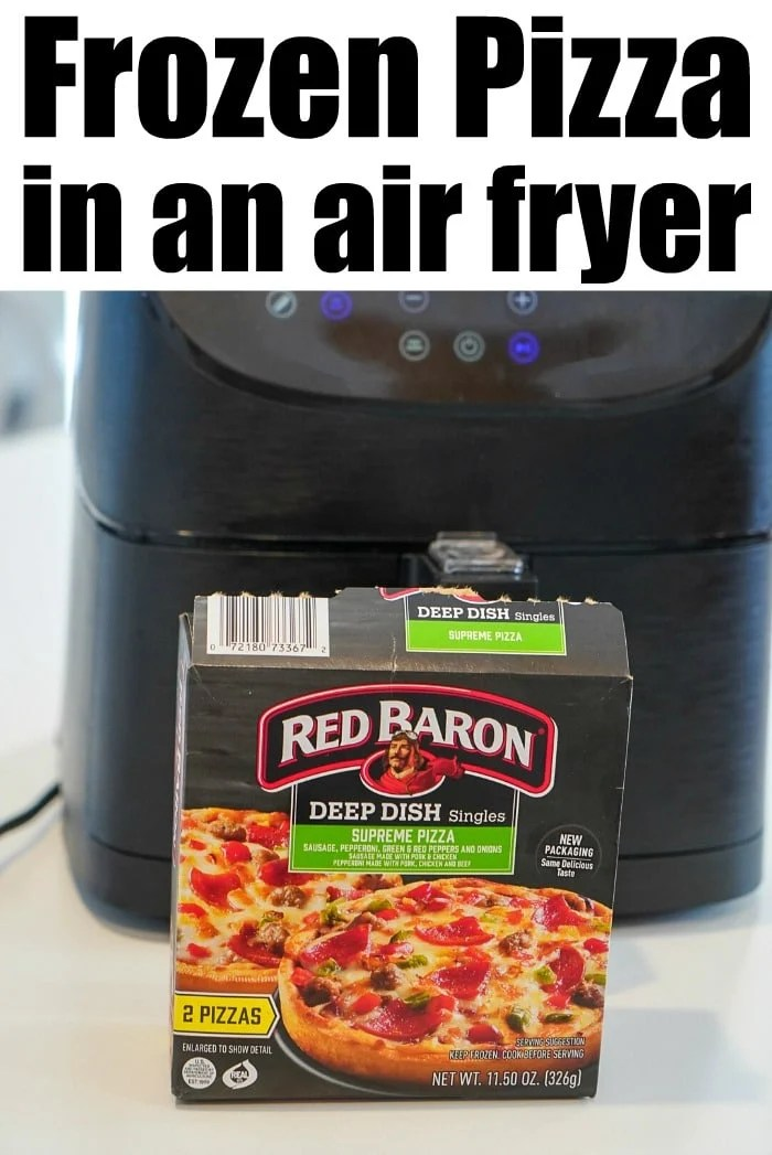 frozen pizza in air fryer the typical mom