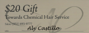 Offer for Aly Castillo, $20 per service for new clients