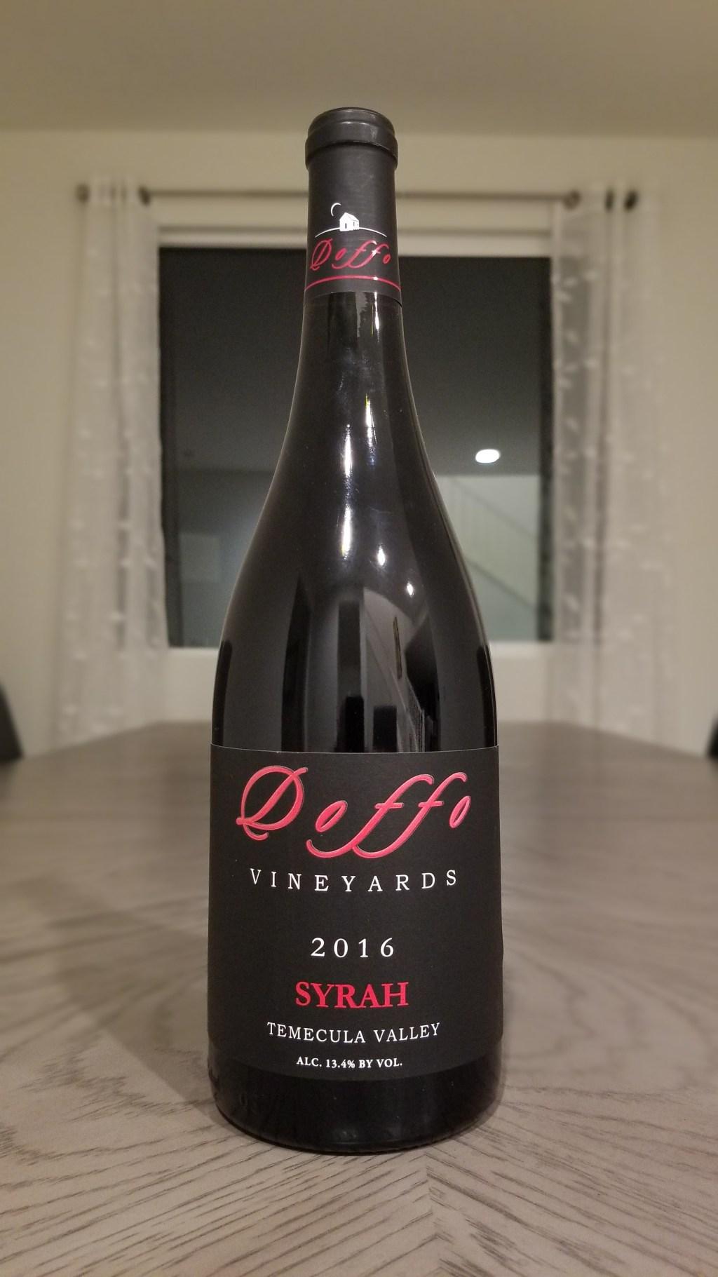 Doffo 2016 Syrah