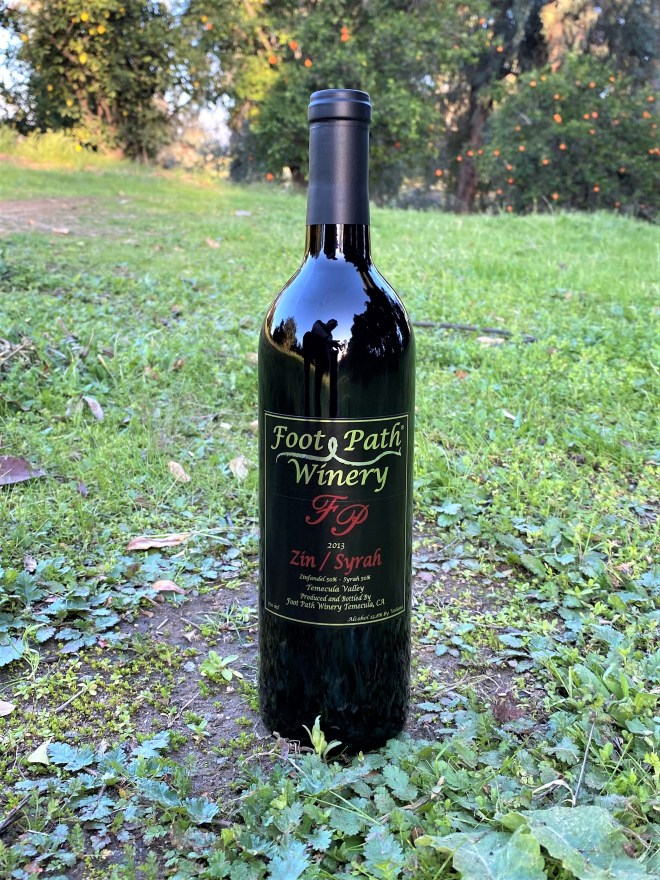 Foot Path 2013 Zin/Syrah