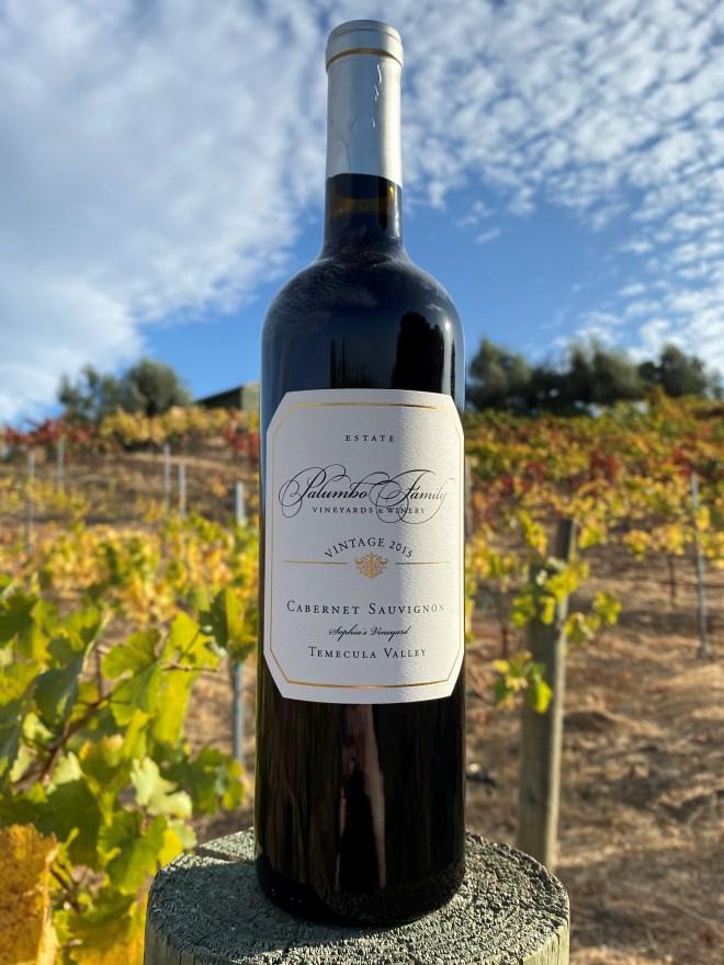Palumbo 2015 Sofia's Vineyard Cabernet Sauvignon