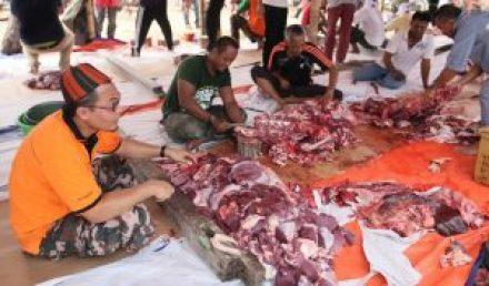 Cara Bahagi Daging Korban