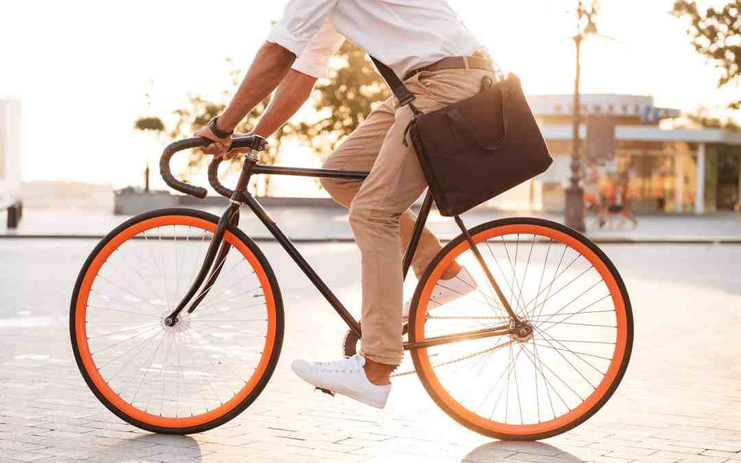 We're just a 15-minute walk or bike ride from your doorstep.