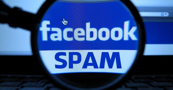 Facebok-Spam