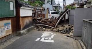 大阪での地震の続報と今後の対応、各自気を付けることなどをシェア