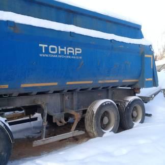 Прицеп TOHAP самосвальный б/у 2014 года