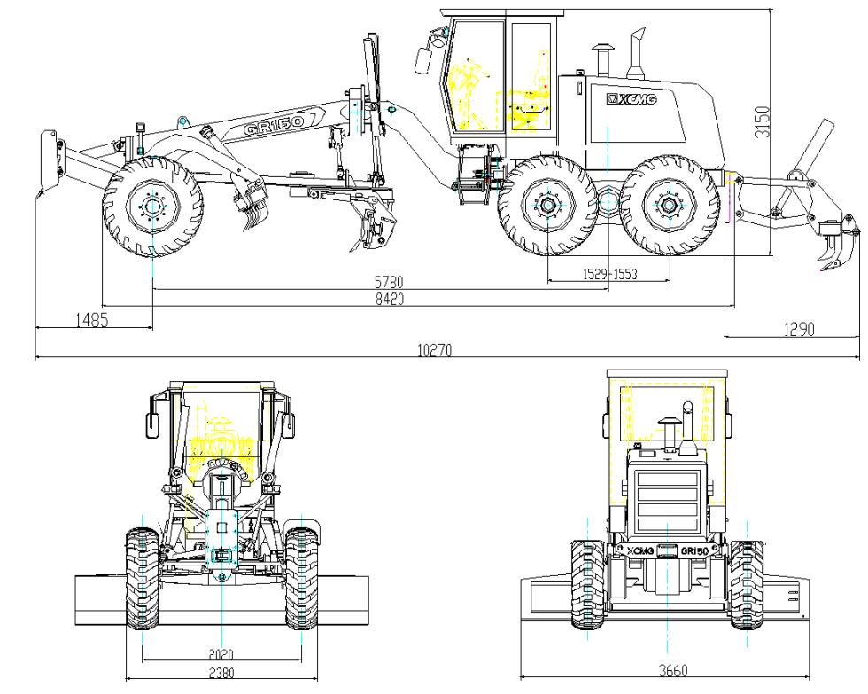 XCMG GR1603
