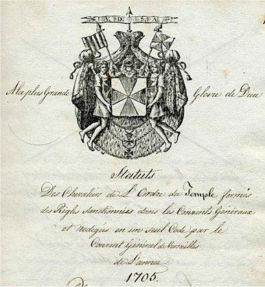 1705 Statut Wappen - Regula Moderna
