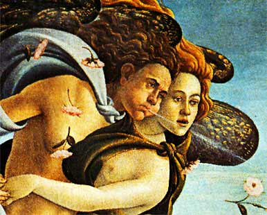 Botticelli was known for his sinuous line and lyrical, contoured forms