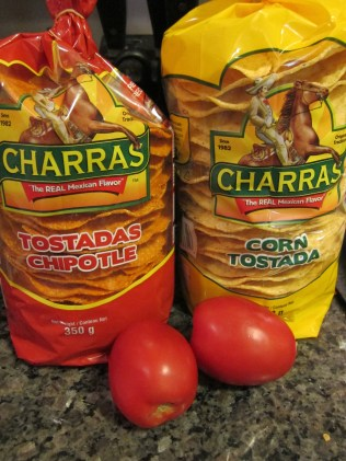 Authentic Tostadas all the way from Mexico! Authenticity is always a tasty ingredient!