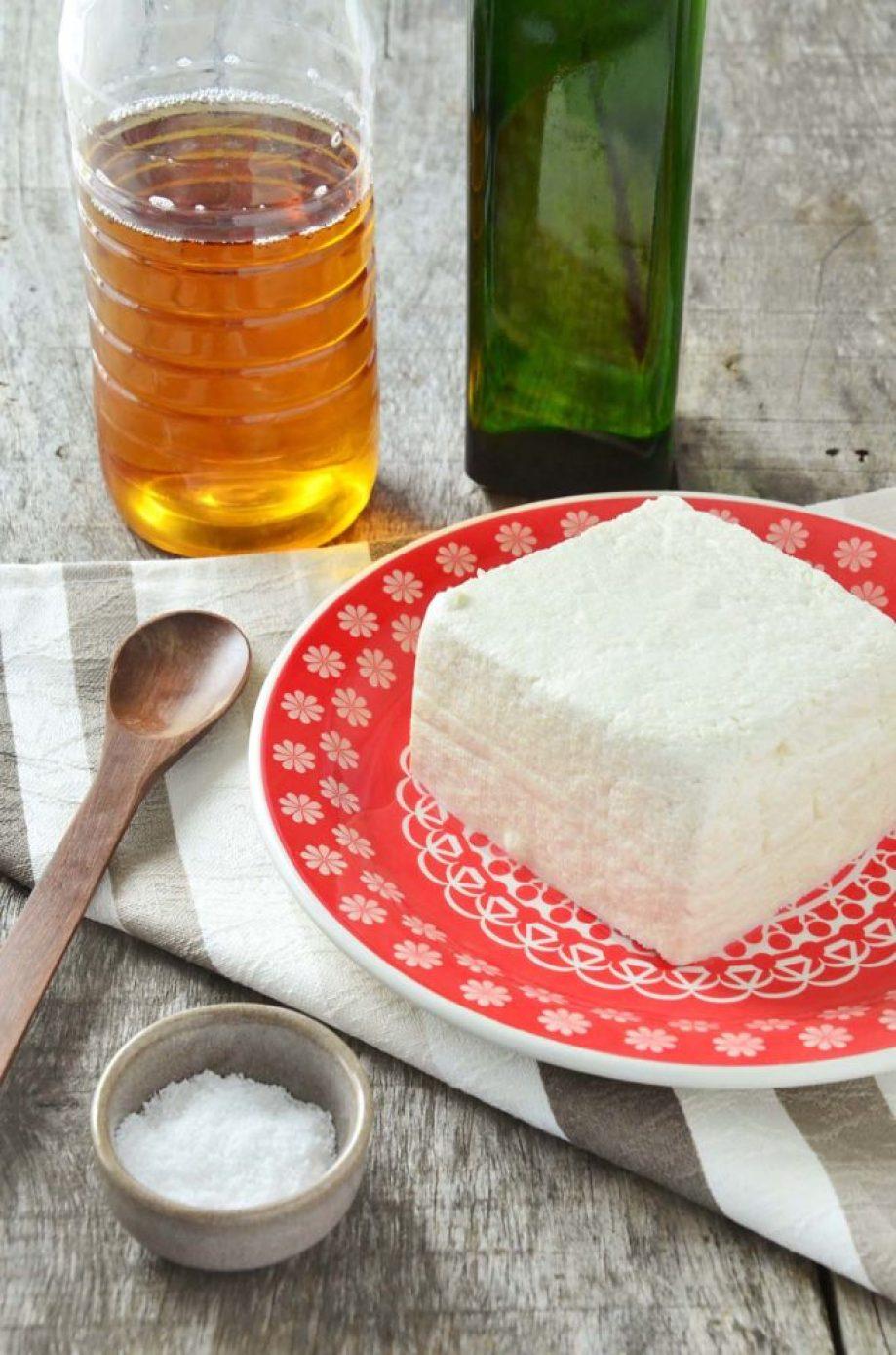 Ingredientes maionese de tofu