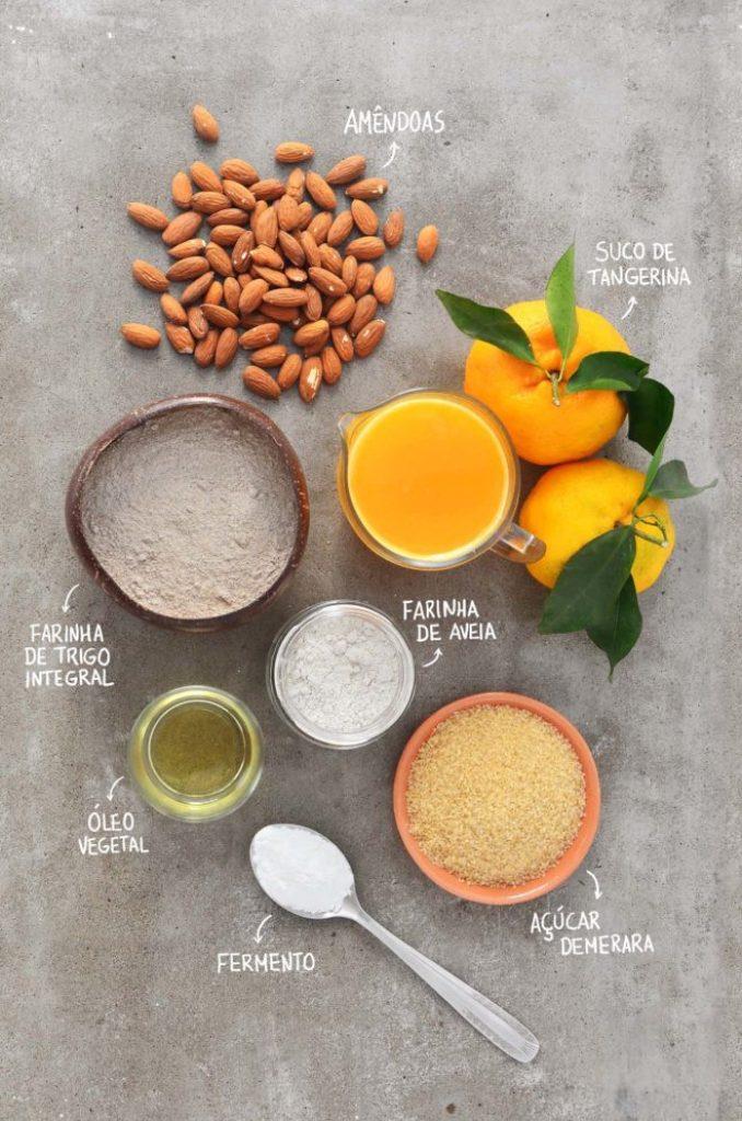 Ingredientes muffins