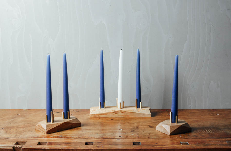HEDRON Candle Holder