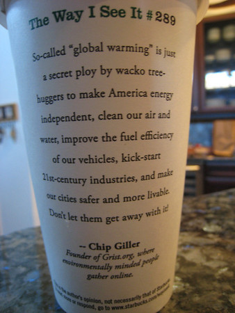 chip giller quote on sbux cup