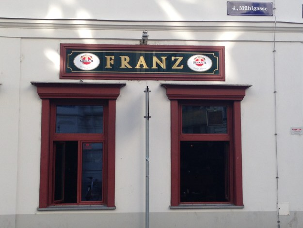 A Gasthaus, a Beisl, or some guy named Franz?