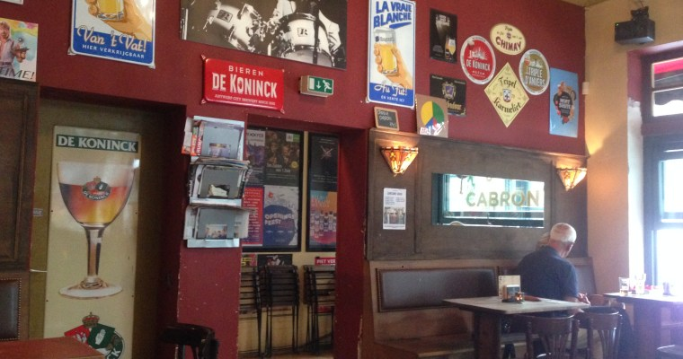 Beer Cafes and Bollekes: Beer for a Day in Antwerp
