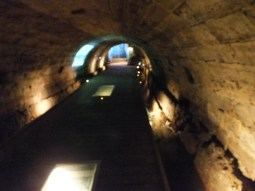 Inside the Templar Tunnel