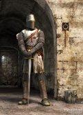 Templar stands guard