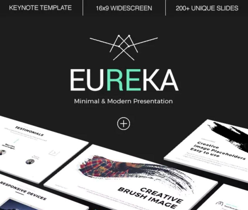 eureka-minimal-keynote-template