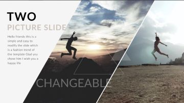 Triangle - Clean trend Creative Keynote Templates -Template7