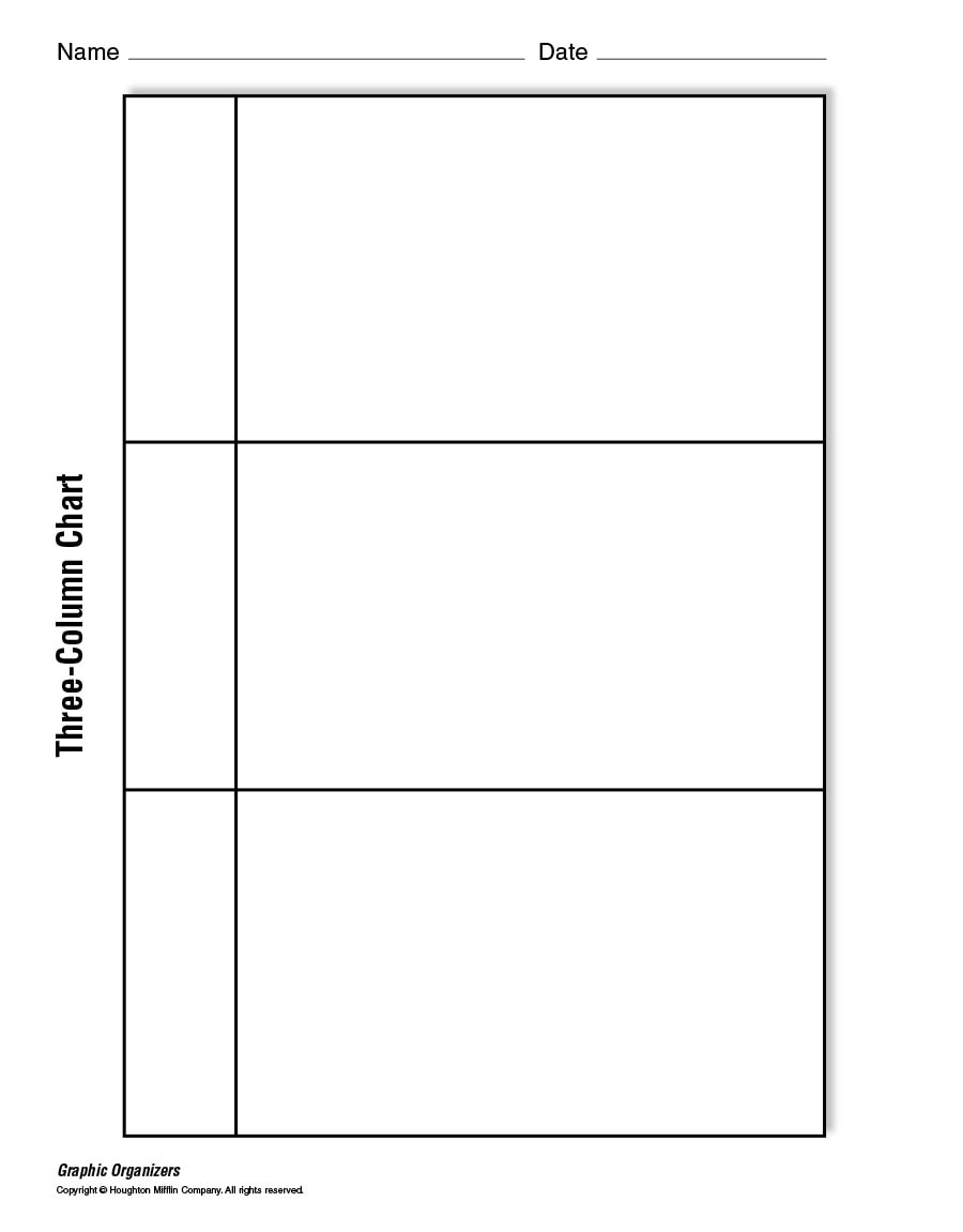 30 Printable T Chart Templates Examples Template Archive