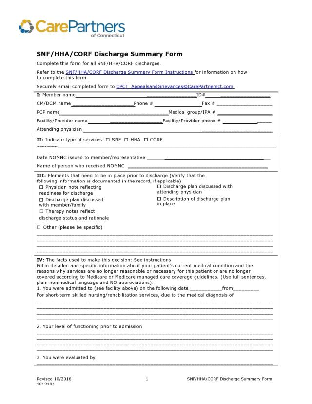 25 Hospital Discharge Summary Templates (& Examples)