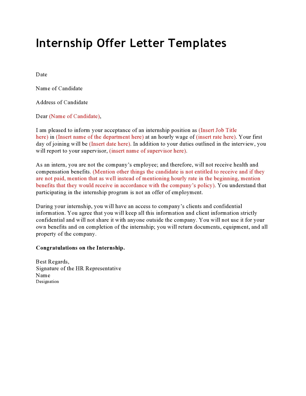 How To Ask For An Extension Of Internship Period Letter : 24 / Have