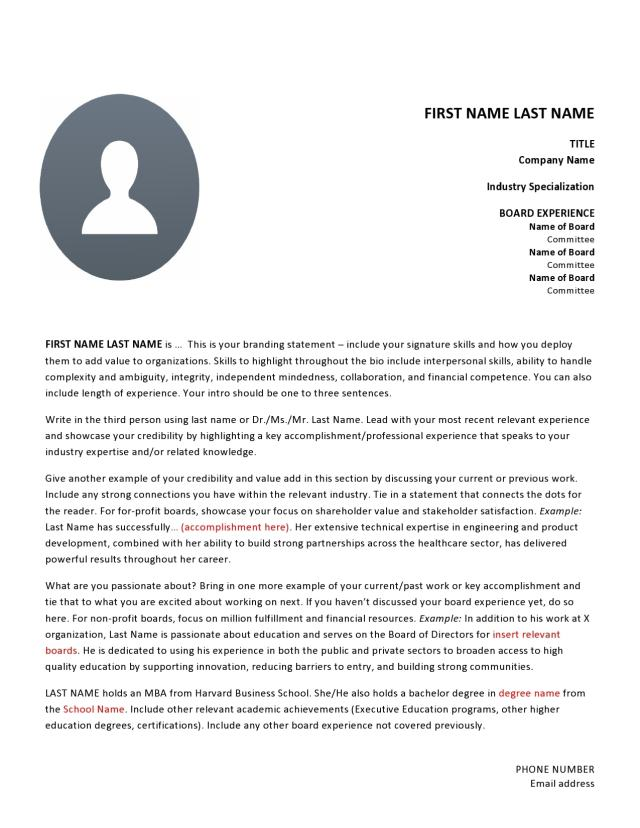 11 Professional Biography Examples (& Templates)