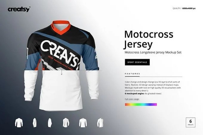 Download 35+ Awesome Jersey Mockup PSD Templates 2020 - Templatefor