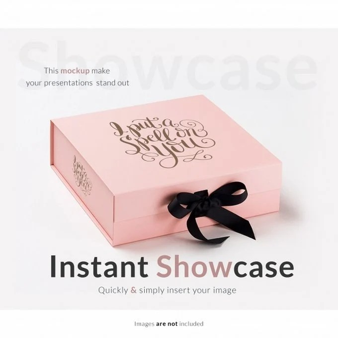 Download 30+ Best Gift Box Mockup PSD Templates 2019 - Templatefor