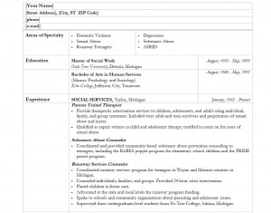 worker resume template social services resume template template