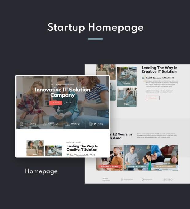 Techiz | Business & Startup Elementor Template Kit - 1