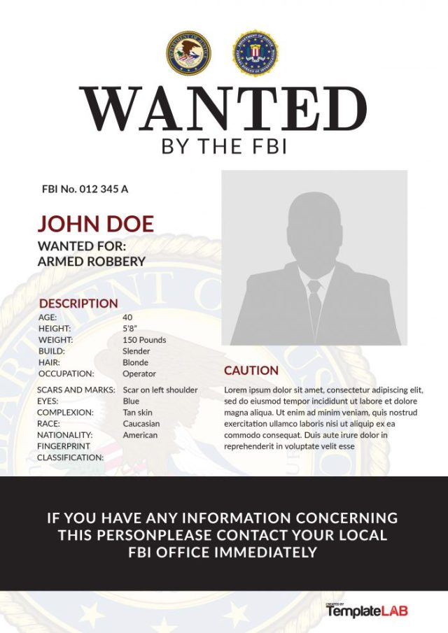fbi wanted poster generator - free download